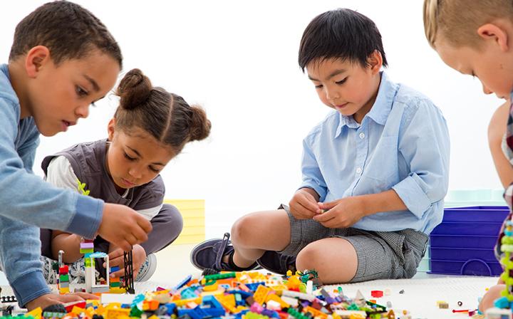 Terapia Lego para crianças com autismo